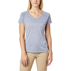 Columbia Zero Rules Camiseta Manga Corta Mujer, new moon heather